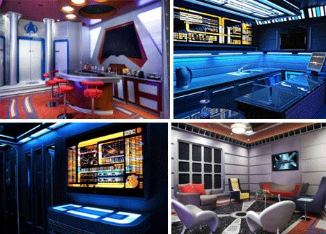 60 best science fiction room decor images on pinterest for Room decor jeneration
