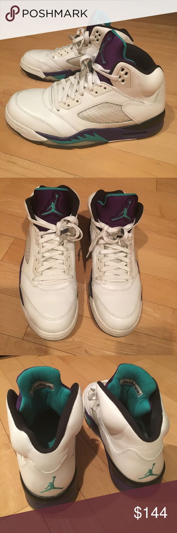 Jordan Grapes size 9 - 2013 release Jordan grapes 2013 release. Size 9. Good condition. 9/10 (light creases at toe box, no scuffs) Nike Shoes Sneakers