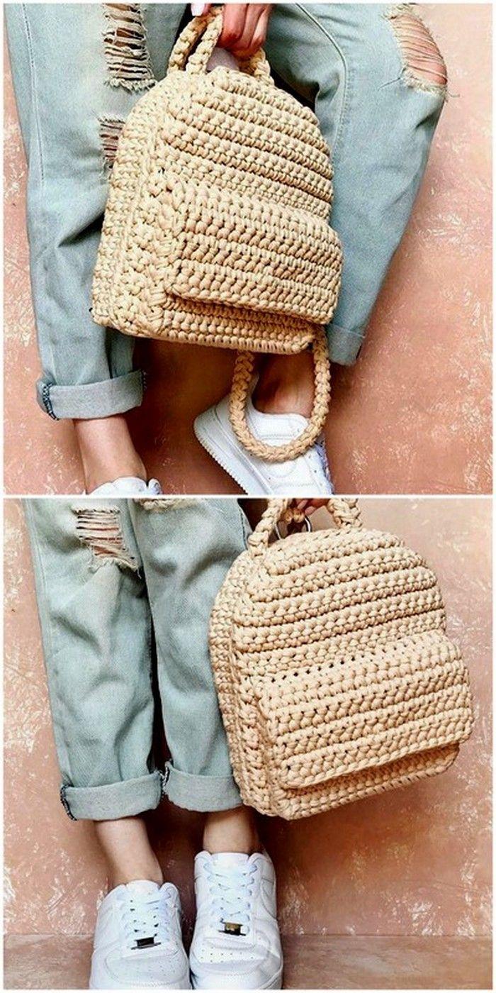 Creative Options Large Deep Bag Crochet Accessory Hand Knitting Sewing