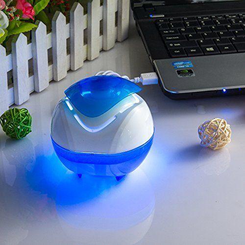 HK® MARE MISTERO Mini USB Aromaterapia diffusore portatile purificatore d'aria per la casa, Camera da letto, auto, ufficio, senza nebbia