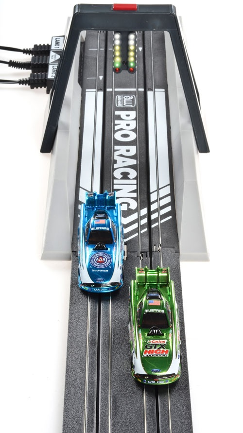 [GIFT IDEA] JEGS Auto World Slot Car Drag Racing Track Sets    Features:  - Fully Functional LED Christmas Tree  - Compatible with most HO Scale Slot Cars  - Electronic Finish Line with WIN Lights  - In-Track Sensors for Red Foul Light  - Cars Safely Stop at End of Track  - Pro & Sportsman Racing Modes  - Variable-Speed Controllers  - 13 Feet of Race Track