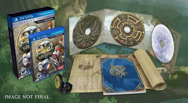 XSEED Commemorates Ys Silver Anniversary with Memories of Celceta Premium Edition