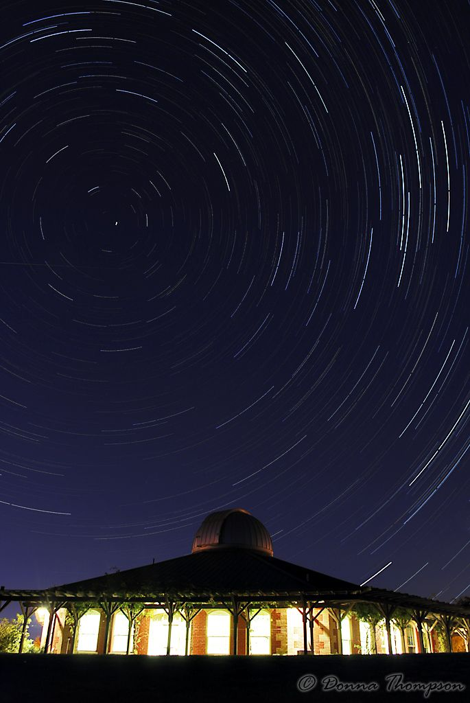 The observatory at Tim Hortons Camp Onondaga ~ this image was done using 129 images, each 30 - sec duration using f 6.3, ISO 200