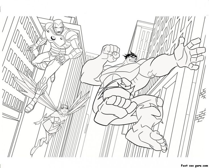 War machine coloring pages   Avengers coloring pages ...