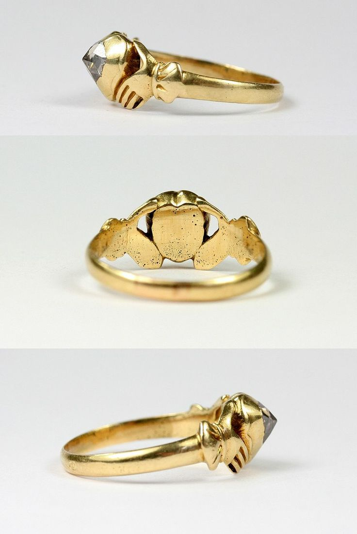 org sale pearl rings earlier engagement fede period fedechianina at jewelry and for wedding century ring gold natural