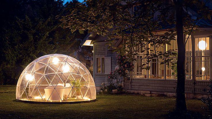 Gazebo da giardino? Si ma a forma di igloo! | Design