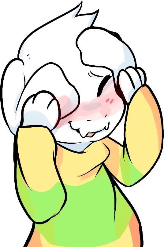 AHHHHH Asriel from Undertale is soooooo flipping cute~~~~ >w<