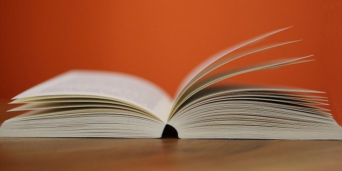 Książki, Otwarte, Strony