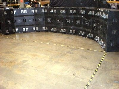 JBL Vertec 4889 Line Array with covers and dolly's  8- units for sale