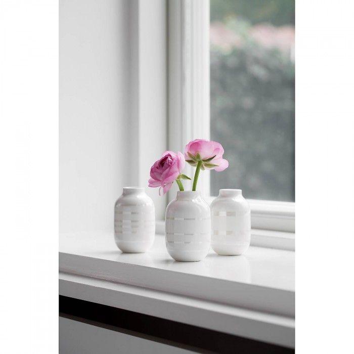 Omaggio Vase miniatyr perlemor 3 pk