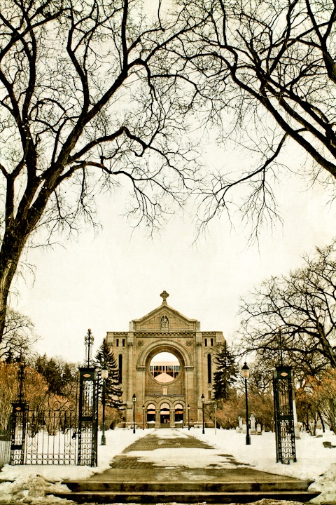 Sacred Echoes of the St. Boniface Basilica by Carla Dyck - Shot in Winnipeg, Manitoba