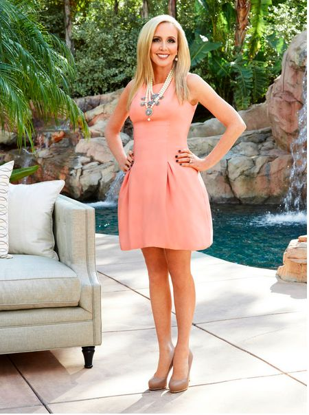 The house they'll tour belongs to Shannon Beador (one of the new HWs).  Shannon had a similar room built for her girls. The trip introduces us to the fabulous house porn.