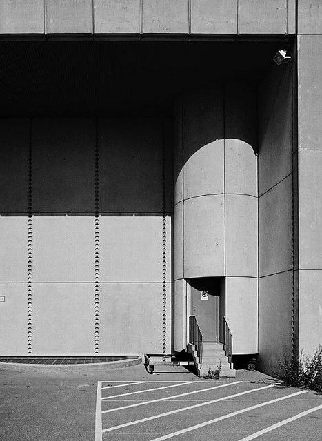 Svenska Filminstitutet, Stockholm by Peter Celsing in 1964-70 If the term 'poetic brutalism' existed, it would surely fit this building. A...