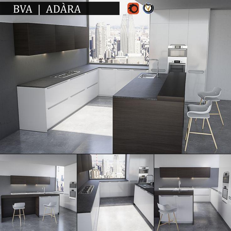 Kitchen BVA Adara | 3D Model