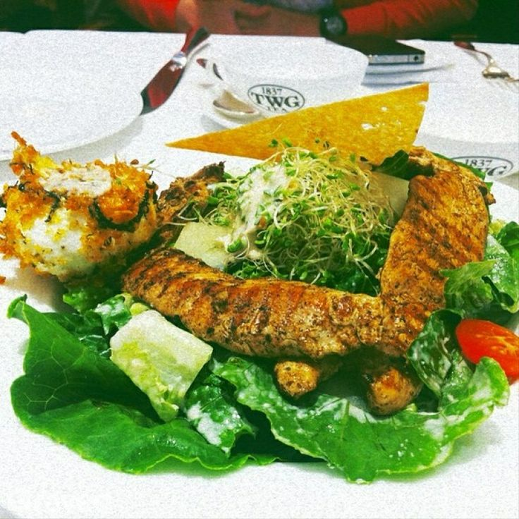 Aviator Salad at TWG Tea Salon & Boutique