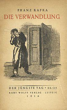 """Franz Kafka: Das Urteil/Die Verwandlung (The Metamorphosis) 1913 LB 3.8 """"Wie wäre es, wenn ich noch ein wenig weiterschliefe und alle Narrheiten vergäße..."""""""