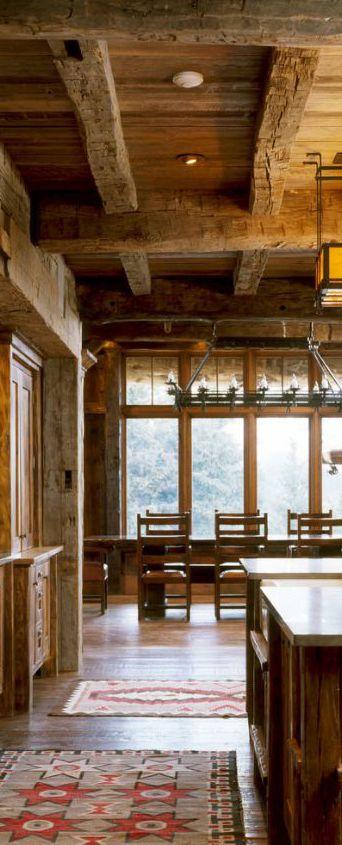 Peace Design   Rustic Kitchen