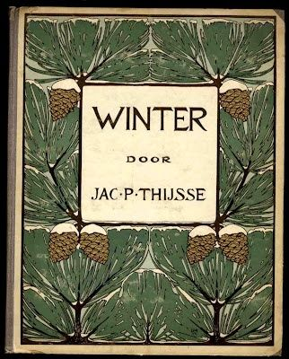 'Winter' book cover, 1909.