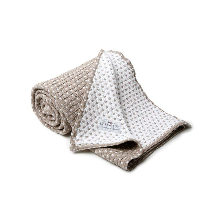 Lexington - Authentic Star Bedspread - Beige