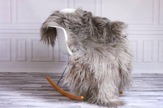 #sheepskinrug #sheepskin #rug #icelandicsheepskin #grayrug #graysheepskin #decoration #homedecor #interiordesign