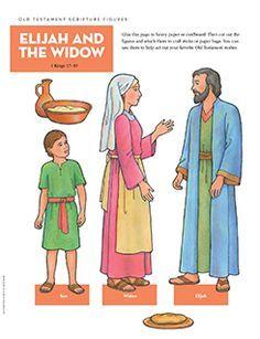 Scripture Figures, Elijah and the Widow