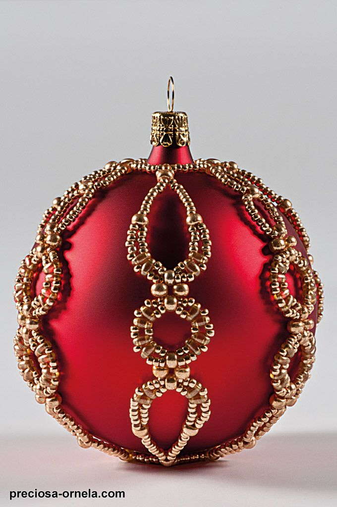 beaded christmas ornaments | project christmas ornament with twin 03 Beaded Christmas Ornaments To ...