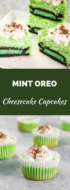 Mint Oreo Cheesecake cupcakes recipe is perfect for St. Patrick's Day. Celebrate with these shamrock Oreo Cheesecake Cupcakes cupcakes if you're having a party or simply love all things Irish! They're so easy to make and only require 5 ingredients…