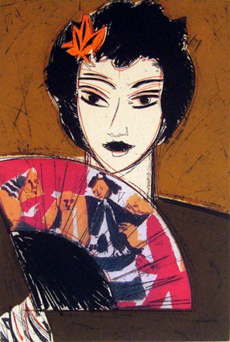 Manolo Valdés, Dama con Abanico I, 2007 - From the Dama con Abanico I-IV series