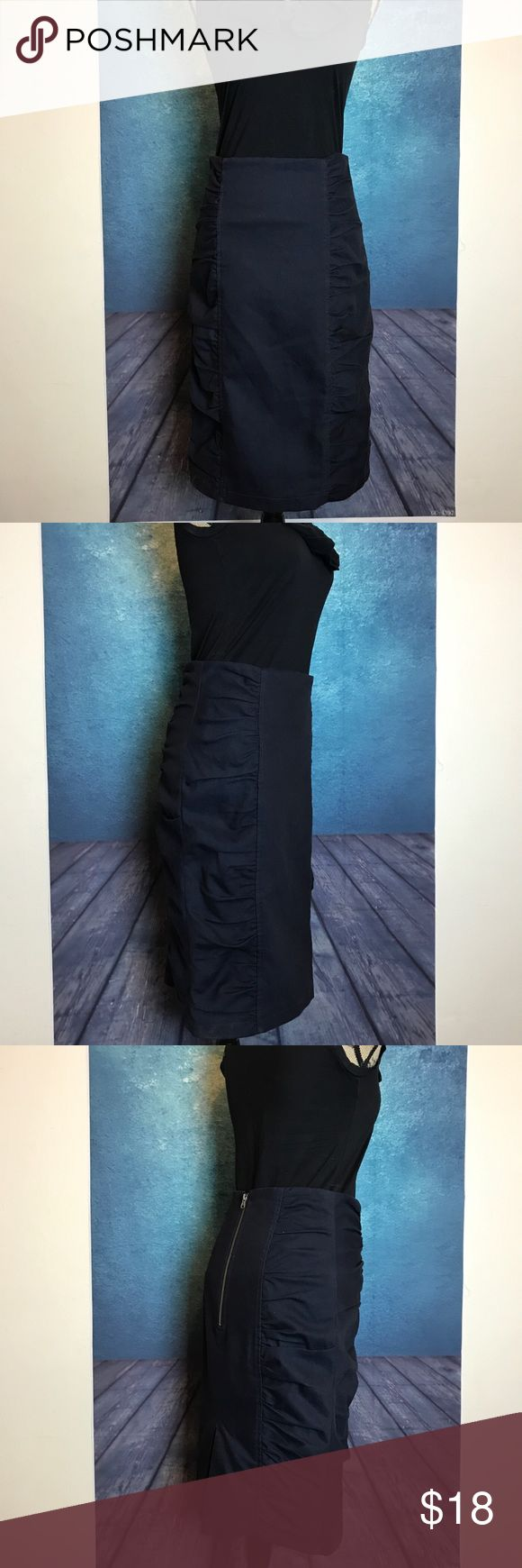 Nanette lepore Black Tube Skirt Size 6 MEASUREMENTS∴ in inches  Waist---->15 Bottom Hem Width--->18 Length---->25  Measurements Are Approximate  And May Vary Slightly. #4 Nanette Lepore Skirts Pencil