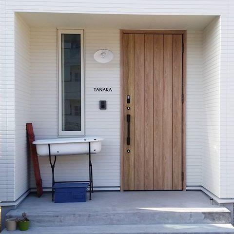 リクシル 玄関 シュガーオーク - Google 検索