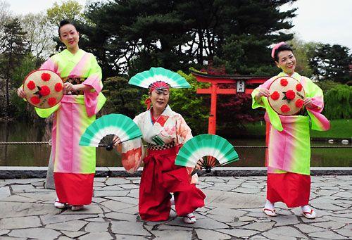 Hanagasa Odori (Flower hat dance) - A Japanese Folk Dance ...