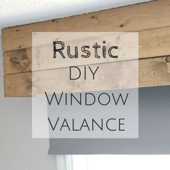 Image result for rustic wood window valances