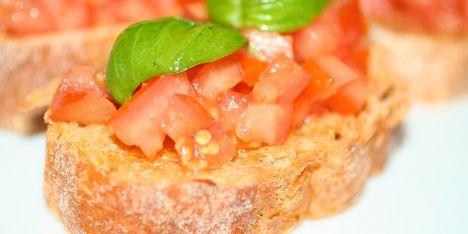 Italienske Hvidløgsbrød - Bruschetta