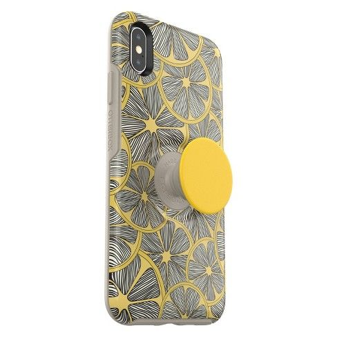 hot sale online 87592 2be24 OtterBox Apple iPhone XS Max Otter + Pop Symmetry Case (with PopTop ...