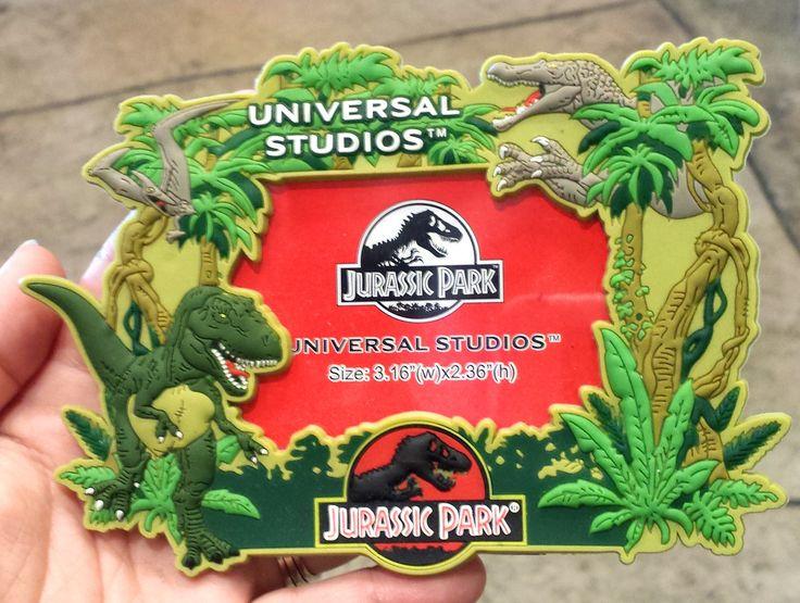 Jurassic Park Dinosaurs Photo Frame Magnet 3x2 Pvc