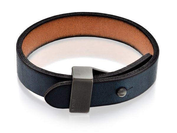 Bilderesultat for fossil leather bracelet