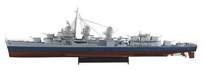 AquaCraft AQUB5705 1/72 US Fletcher Class Destroyer ARR