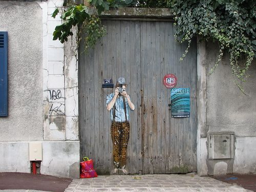 24 best paintedgaragedoors home grown images on pinterest street art urban art and. Black Bedroom Furniture Sets. Home Design Ideas