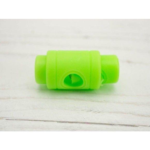 Kordelstopper 5mm neon grün