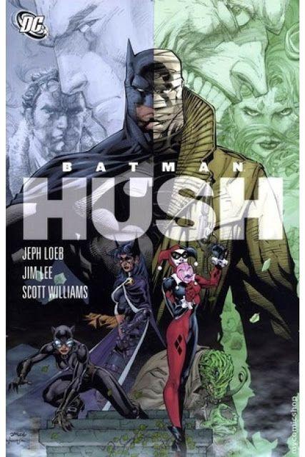 Batman Hush Comics Espanol Mega Batman Hush Hush Hush Batman Sets