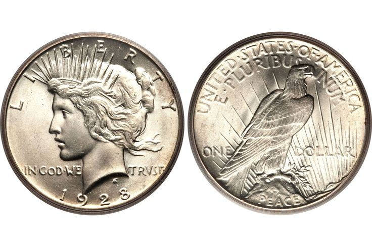 Want to know how much your peace silver dollar is worth? This page lists coin values and prices for peace dollars minted from 1921 to 1935.