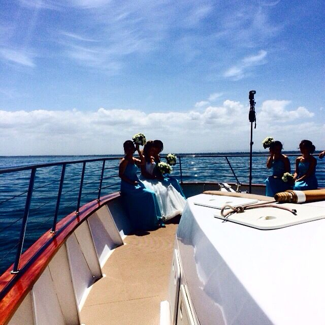 #NYE2014 #weddingday #sailing #celebrate #bride #bridesmaids Absolutely loved organising this gorgeous and fun wedding! Belle
