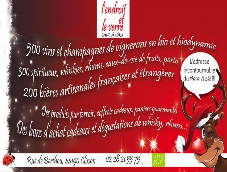L'Endroit et le Verre : L'adresse incontournable du Père Noël !