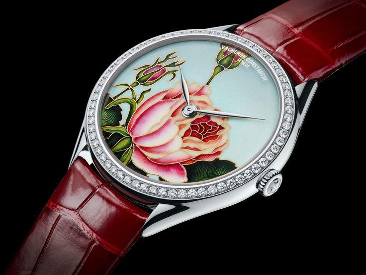 #Vacheron Constantin Métiers d'Art Florilège – Rosa Centifolia