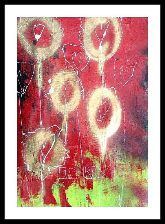 17 best arty stuff images on Pinterest Acrylics, Acrylic nail - peindre sur peinture laquee