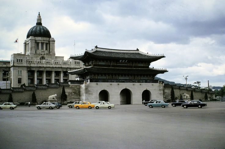 Japanese General Government Building, 1973 | Rare angle.