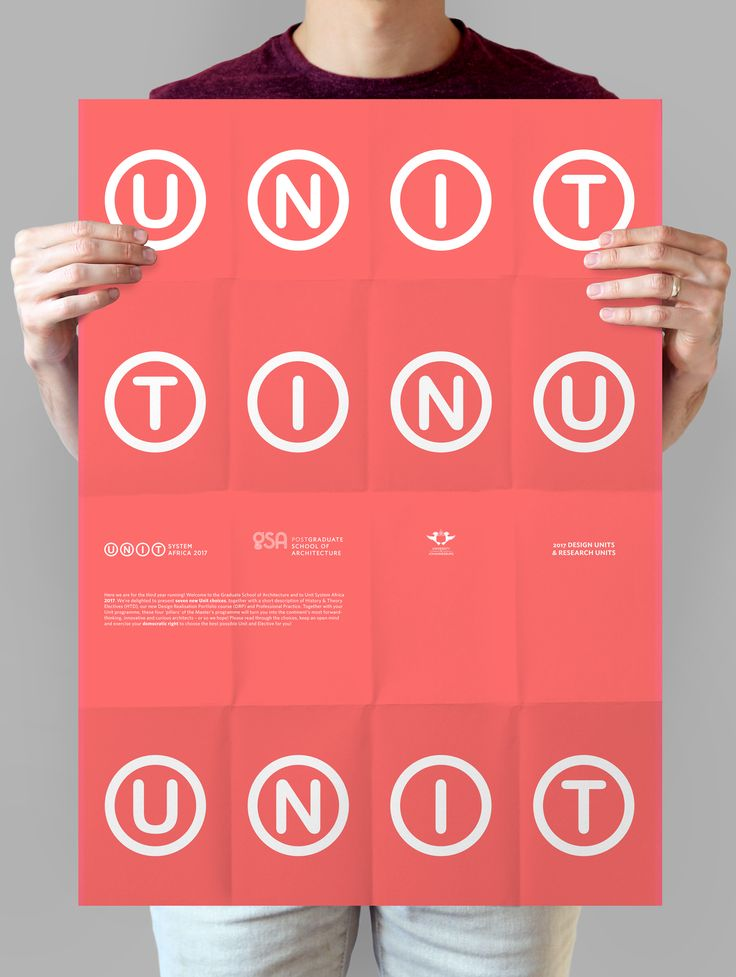 Unit System Poster 2017
