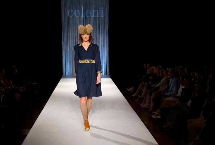 Celeni Fashion Show. Makeup: Dora Graff
