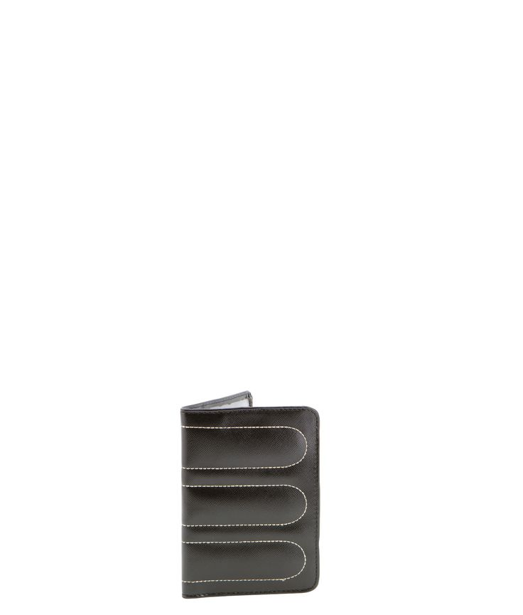 Spencer and Rutherford - sale - Passport Sleeve - Passport Cover - Cobblestone/Black