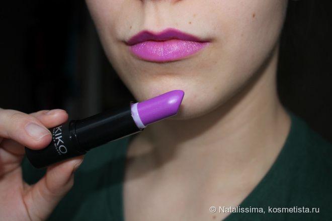 Помада для тех, кто всё еще стесняется носить MAC Heroine. Очаровательная Kiko Smart Lipstick 923 отзывы — It's all around Natalissima
